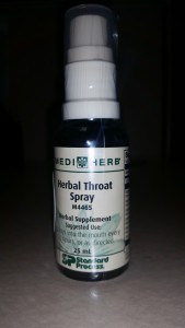 We Love Herbal throat Spray!